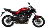 Yamaha MT-07 ABS Lava Red
